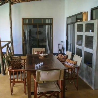Veranda Tisch und Stühle