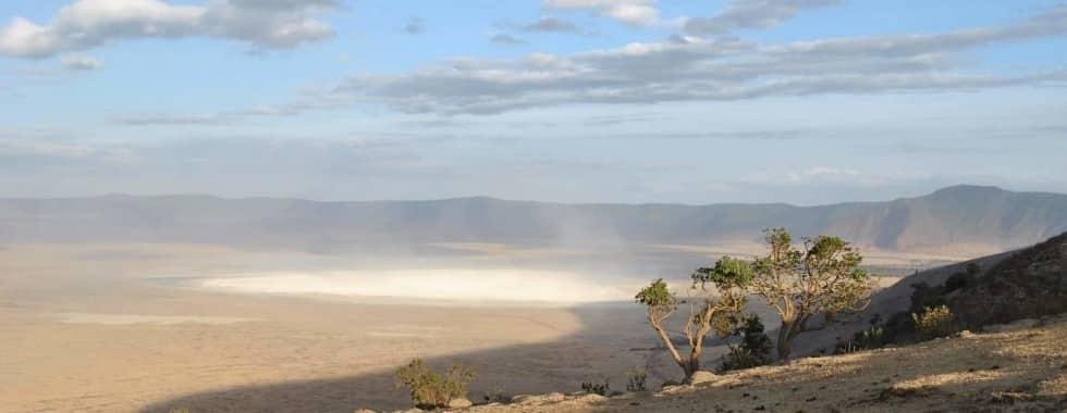 Ngorongoro Crater mountain view